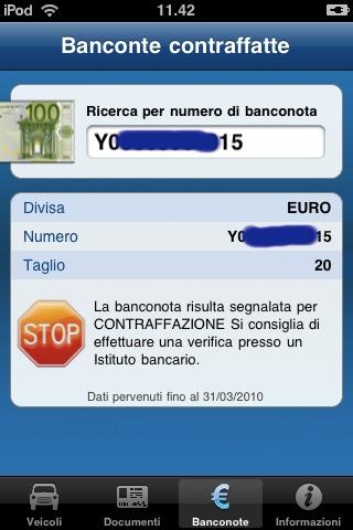 Ministero Dell 39 Interno Ricerca Banconote Contraffatte